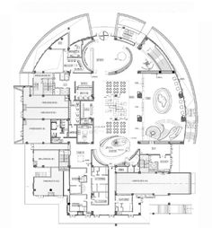 Restaurant Plan, Apartment Plans, Media Center, Coffee Shop, House Plans, Floor Plans, Layout, How To Plan, Sales Center