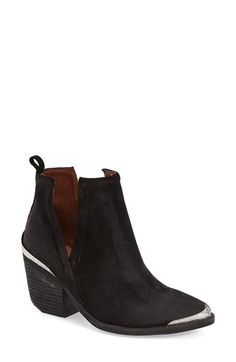 Jeffrey Campbell 'Cromwell' Cutout Western Boot (Women) available at #Nordstrom - I like the taupe suede ones better.