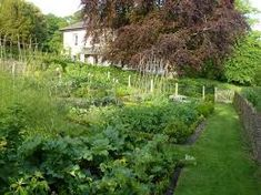 Image result for english gardens on a slope
