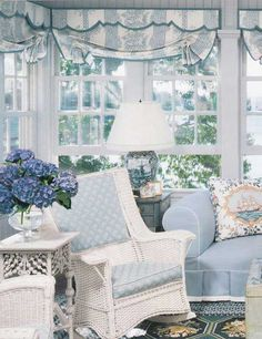 Bright, light, airy, relaxing. I can just imagine the conversations that will take place here!