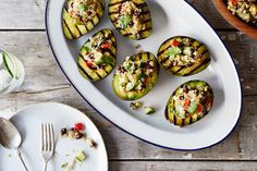 Grilled Avocados wit