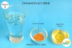 Cinnamon ACV drink for weight loss
