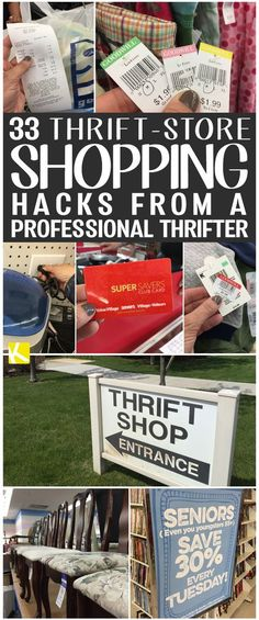 The best DIY projects & DIY ideas and tutorials: sewing, paper craft, DIY. Ideas About DIY Life Hacks & Crafts 2017 / 2018 33 Thrift-Store Shopping Hacks from a Professional Thrifter -Read Thrift Store Shopping, Thrift Store Crafts, Thrift Store Finds, Shopping Hacks, Thrift Stores, Goodwill Finds, Thrift Store Decorating, Thrift Store Diy Clothes, Thrift Store Hauls