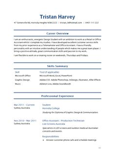 sample student resume how write stuff free resumes easyjob