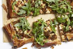 Recipe: Caramelized Onion and Phyllo Tart — Farmstand Freestyle #recipes #food #kitchen