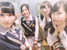 Rurina Nishizawa x Anna Ijiri x Yuki Azuma x Yumi Ishida  https://twitter.com/2430rurina_G/status/795613820353843200