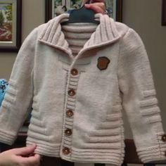 erkek-cocuk-orgu-ceket-modeli-kopyala Sweaters, Fashion, Moda, Sweater, Fasion, Jumper, Sweatshirts, Pullover Sweaters, Cardigans