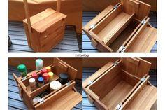 ダイソーの竹まな板でスパイスボックスを作りました家とキャンプなどで共用しています