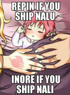 I ship nalu so much that I couldn't ignore... I am a failure to the chainmail community....