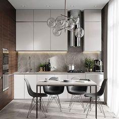 Еще пара кадров недавней кухни #interior #interiordesign #design #designer #designinterior #дизайн #дизайнпроект #дизайнинтерьера #интерьер #интерьерквартиры