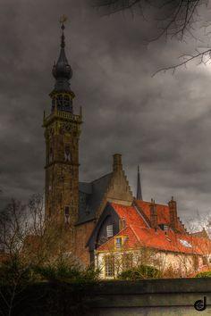 Veere, Netherlands by Dieter Eschenbacher