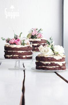 Perfect (wedding) cakes by Gaggui kaffela, Turku, Finland.