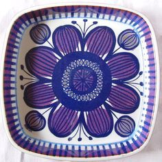Royal Copenhagen Fajance Dish by Beth Breyen No 167 2883 1960 1979 | eBay