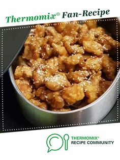 Recipe Cel's Delicious Honey Chicken by Thermo Obsessed Lest, learn to make this recipe easily in your kitchen machine and discover other Thermomix recipes in Main dishes - meat. Gluten Free Recipes For Dinner, Dinner Recipes, Meat Recipes, Chicken Recipes, Honey Sesame Chicken, Evening Meals, Main Meals, Food Hacks