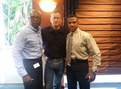 Lt Colonel Dave Grossman, Director of Security Eric Lawrence and myself during 2-day LEO Training Seminar hosted by Calvary Chapel