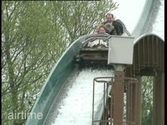 Diana, William and Harry at Thorpe Park ((So lovely to see her happy, until the end. I feel so sorry for her.))