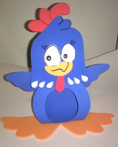 Porta bombom galinha pintadinha confeccionado a mão em EVA e pintura manual. Produto resistente a água.