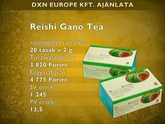 Ganodermás zöld tea