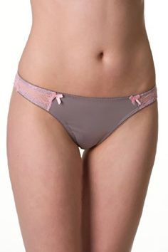 Velvet Kitten Heaven Sent Thong 123502 Small Grey *** Check this awesome product by going to the link at the image. Note: It's an affiliate link to Amazon.
