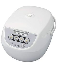 Tiger (Uncooked) Micom Rice Cooker with Food Steamer & Slow Cooker, White (Renewed) Best Rice Cooker, Rice Cooker Recipes, Slow Cooker, Slow Cook Soup, Slow Cooked Meals, Rice Recipes For Dinner, Steamer Recipes, Steamed Vegetables