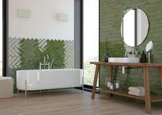 Grüne Wandfliesen | Glam | Exklusive Wandfliesen aus Steingut. Hochwertige Qualität ✓  Beratung ✓ Gratis Musterversand ✓