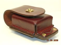 Custom Leather Work | 41. Cell Phone Case. Tandy Leather, Leather Art, Leather Gifts, Leather Pouch, Leather Design, Custom Leather Belts, Belt Pouch, Leather Projects, Small Leather Goods