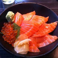 Salmon Sushi Sashimi