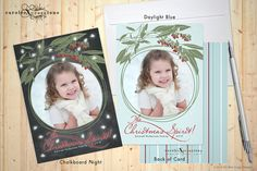 The Christmas Spirit / Christmas Photo Cards  by caroleeXpressions