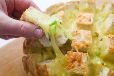 Gooey, cheesy, spicy jalapeño pull-apart bread