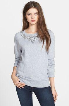 MICHAEL Michael Kors Embellished Crewneck Sweatshirt on shopstyle.com
