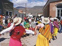 Todo sobre las danzas tradicionales de los pueblos de latinoamerica: El carnavalito