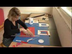 Comment faire des cadres ? Peinture, décoration - YouTube