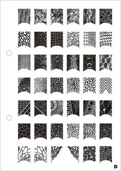 XL rectangle Image plates for stamping nail art designs metal stencil