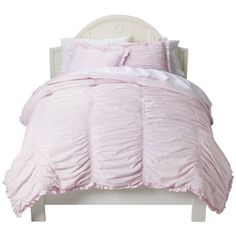 So excited to find this ssc headboard!! Simply Shabby Chic® Ruched Comforter Set : Target