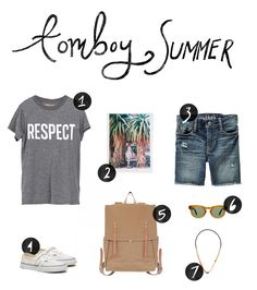 Tomboy Summer Style  |  The Fresh Exchange