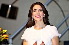 Simply stunning: The 43-year-old, who celebrated her birthday the following day, was glowing on the occasion