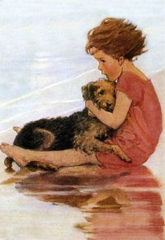 https://flic.kr/p/cwnZvJ | Jessie Willcox Smith - A Very Little Child's Book of Stories | Jessie Willcox Smith  illustration from 'A Very Little Child's Book of Stories'.  More about the artist at vintagebookillustrations.com/