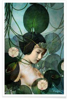 Tangled als Premium Poster von Catrin Welz-Stein   JUNIQE