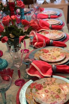 Salmon and pink with compliment floral chintz bone china...
