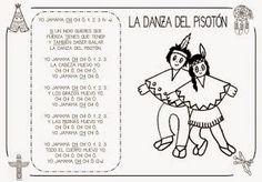 CANTORES INFANTILES: INDIOS. DANZA DEL PISOTÓN.
