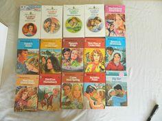 ELIZABETH GRAHAM - HARLEQUIN ROMANCES – 15 PAPERBACK BOOKS – Combine Ship