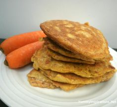 GAPS Introduction Diet - Stage 4 - Carrot Juice & Carrot Pancakes Recipe