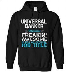 Universal Banker - shirt design #vintage tshirt #tshirt bemalen