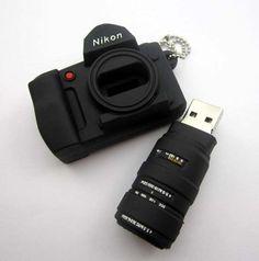 . Cool  Camera key chain.