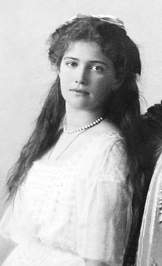 The beautiful Grand Duchess Maria Nikolaevna of Russia