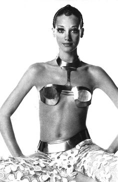 1960's fashion - marisa berenson photo irving penn 1968
