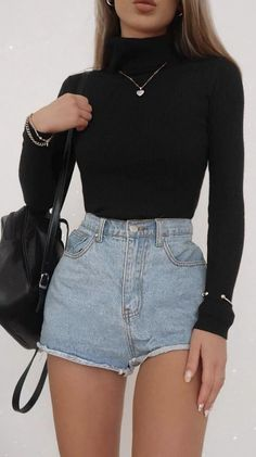 20 STYLENANDA CLOTHING PICKS [DECEMBER 2020] Basic Outfits, Teen Fashion Outfits, Retro Outfits, Look Fashion, Cute Comfy Outfits, Classy Outfits, Stylish Outfits, Cute Jean Outfits, Cute Simple Outfits
