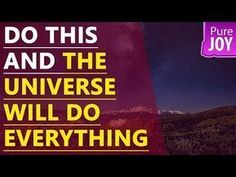 Abraham Hicks Do This And The Universe Will Do Everything! - YouTube