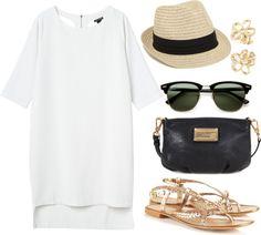 Super cute beach outfit