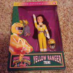 Yellow Power Ranger Aisha Doll Mercari Pinterest